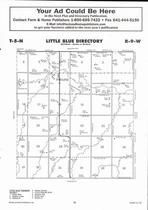 Little Blue Township, Pauline, Blue River, Directory Map, Adams County 2007